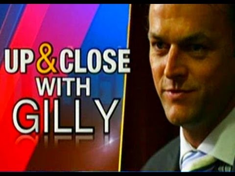 Up and close with Adam Gilchrist