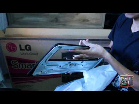 Unboxing TV LG 47LS5700 SMART TV - Led Full HD - Em portugues Brasil