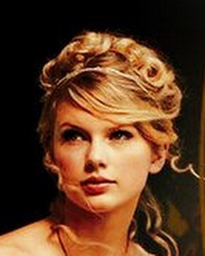 Taylor Swift Love Story Updo in HD (pursebuzz.com for makeup and hair)