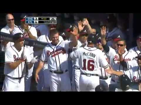 Jason Heyward's first career Home Run in the Majors Video