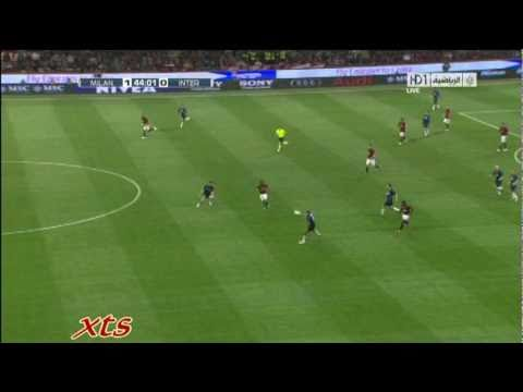 seedorf AC Milan vs Inter Milan skills