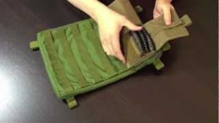 MOLLE Panel with SKS Clip Pouches
