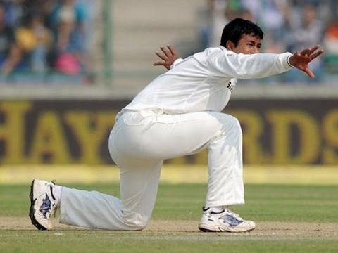 Pragyan Ojha ranked fifth in the ICC Test Rankings for bowlers