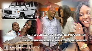 😍Chizzy ALICHI BOYFRIEND BOUGHT HER BENZ AND HOUSE IN CELEBRATION OF THEIR  ENGAGE!!😍👍🏼