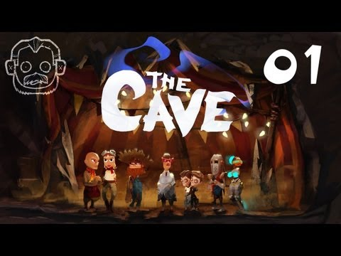 Let's Play The Cave #001 - Willkommen in der Cave [deutsch] [720p]