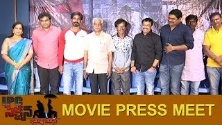 IPC Section Bharya Bandhu @ IPC SECTION  Movie pressmeet | Silver screen
