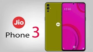 Jio Phone 3 First Look, Specs, Features, 48MP Camera, 8GB RAM, 5G Network & Concept!