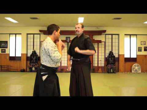 Fear and faith in Aiki jujutsu, James Williams Sensei