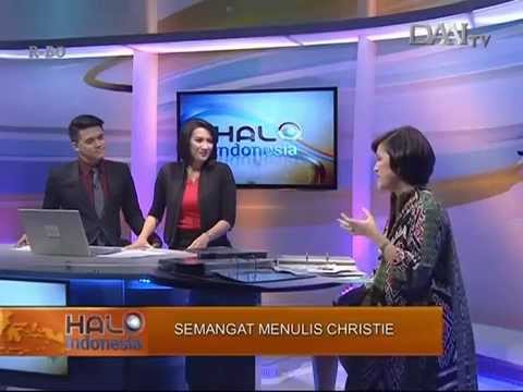 Christie & Philately - 'Halo Indonesia' @DAAI TV - 27 April 2015