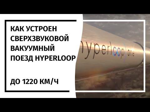 Как устроен HyperLoop One  02.08.2017  (На русском)
