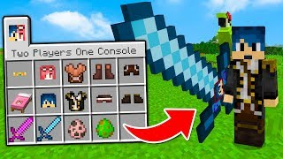 Minecraft ITA - LA MOD DEI TWO PLAYERS ONE CONSOLE