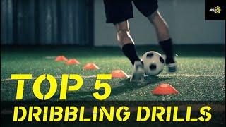 Soccer Drill: Better Soccer Drills - Dribbling Drill #1