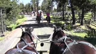 Our first year on the Pendleton Round-Up Wagon Train 2012 part 2