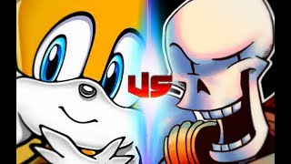 Tails Vs Papyrus (Rap Battles Of Video Games All-Stars)(Season 4)