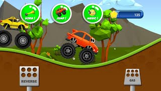 Car game Show for kids | Jumping Car videos