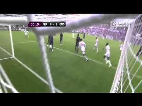 France 1 - 1 England Full Highlights. (EURO2012)