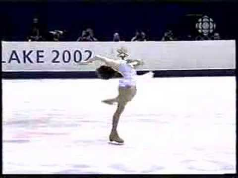 Sarah Hughes 2002 Long Program on CBC Video