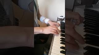 Hands on my piano