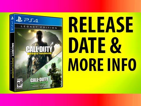 INFINITE WARFARE RELEASE DATE - New Call of Duty Gameplay & Pre-Order