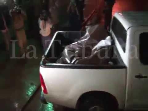 Cadáveres de Miss Honduras y de su hermana llegan a morgue de Tegucigalpa