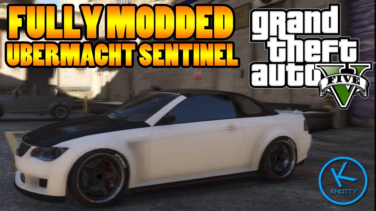 GTA 5 Fully Modified: Ubermacht Sentinel - YouTube