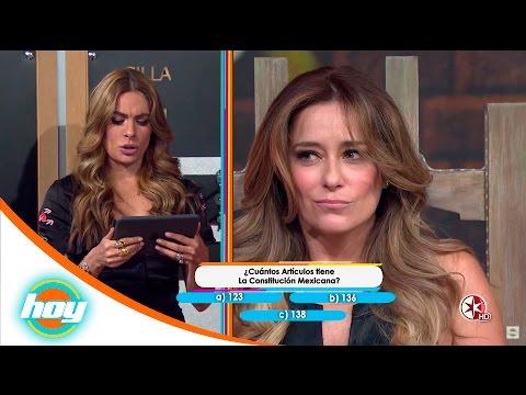Karla Gómez y Raúl Araiza   La silla eléctrica   Hoy