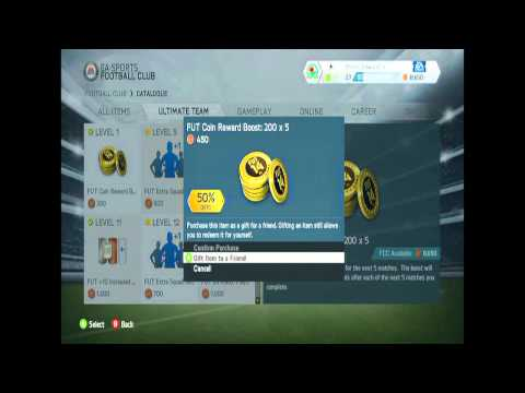 Fifa 14 Ultimate Team Coin Glitch/Trick Unlimited Coins !!!