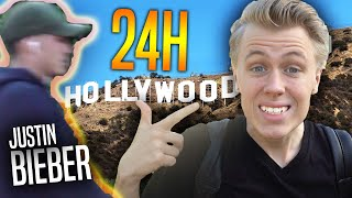 Lever i Hollywood 24 timmar (ft. Justin Bieber!?)