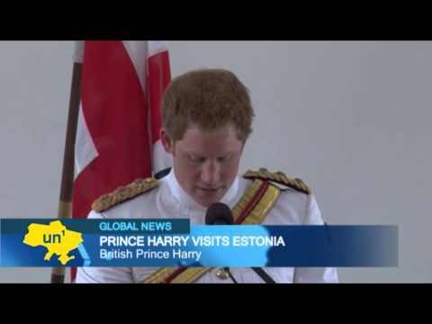 Prince Harry in Estonia: British royal thanks Baltic troops for help in NATO-led Afghanistan mission