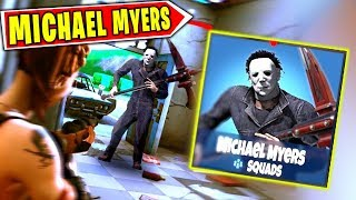 "SCAPPA dal KILLER ""MICHAEL MYERS"" su Fortnite (100% HORROR)"