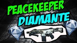 "Peacekeeper de diamante ""Black Ops 2"""