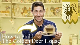 Building Golden Deer Gingerbread Houses ft Joe Zieja (Voice of Claude from Fire Emblem Three Houses)