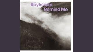 Remind Me Radio Edit