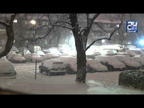 Time Lapse, Record Snow Storm Jonas 2016 in Washington, DC Metro Area