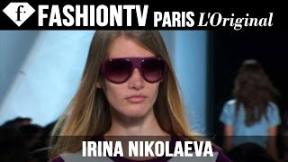 Model Irina Nikolaeva | Beauty Trends for Spring/Summer 2015 | FashionTV