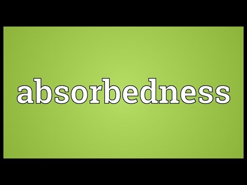 Header of absorbedness