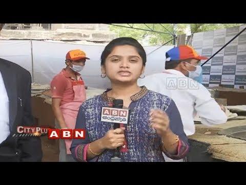 Ramzan Special | All Arrangemenqts Set for Making Haleem in Pista House | ABN Telugu