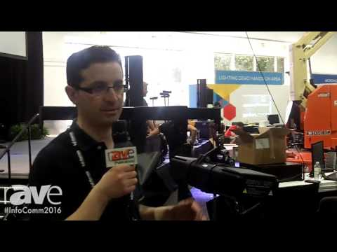 InfoComm 2016: Show Distribution Previews Servo Lift Hoist on Set-Up Day at InfoComm 2016 (Spanish)