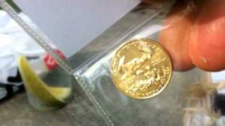 1/4 Ounce Gold American Eagle Coin - Unboxing