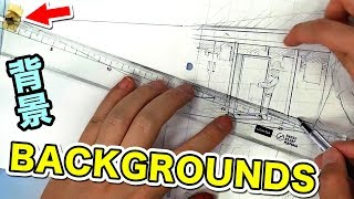Download Lagu manga BACKGROUNDS - How the PRO Assistants do it Gratis STAFABAND