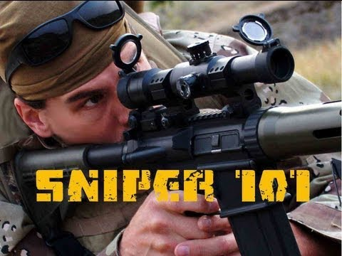 SNIPER 101 Part 6 - Equipment OVERVIEW - Rex Reviews
