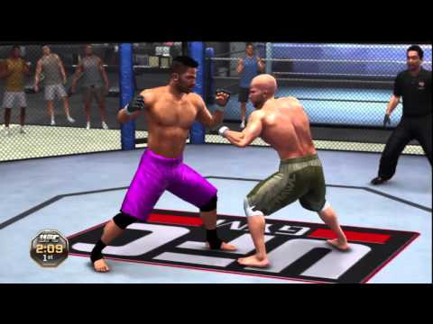 Ufc Undisputed 2010 Gameplay Walkthrough Part 1 Intro Career Mode