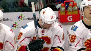 Stajan sacrifices himself to bail out his goalie
