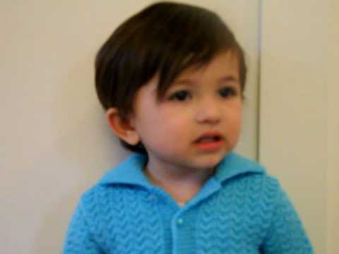 Riya 21 Months Old Singing Jan Gan Man Indian National Anthem video