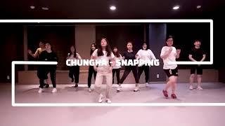[이지댄스광복] 부산댄스학원 방송댄스K-POP 취미반 청하 - SNAPPING COVER DANCE