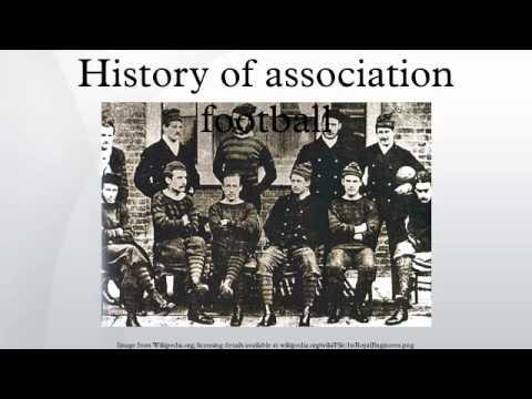 History of association football