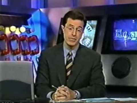 2000 - Stephen Colbert predicts Iraq, the Economy, and Bush
