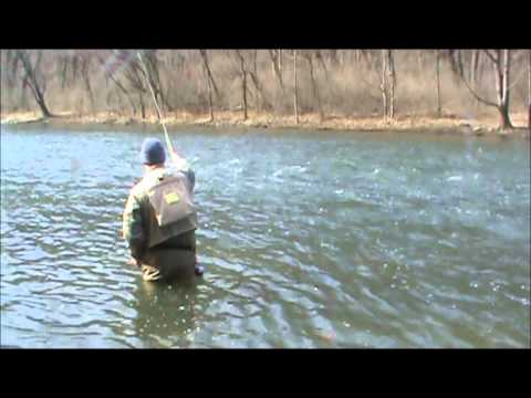 Wild Brown Trout Fly Fishing in Pennsylvania (Drift stealth footage included)