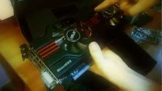 Nvidia GTX 570 Asus ENGTX570 Direct CU II - UNBOXING