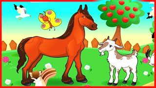 Old Macdonald Had a Farm EIEIO ♫ Kids Songs, Nursery Rhymes for Children English